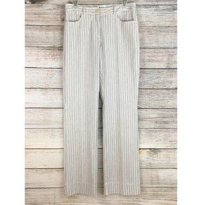 Calvin Klein Pants Cotton Spandex Striped